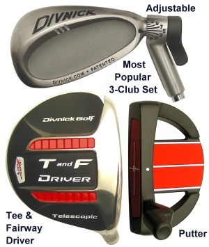 Telescopic Golf Clubs