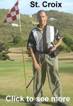 Adjustable Golf Club in St. Croix